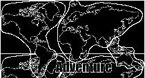 Motorrad Koffer Aufkleber Worldmap Weltkarte Adventure
