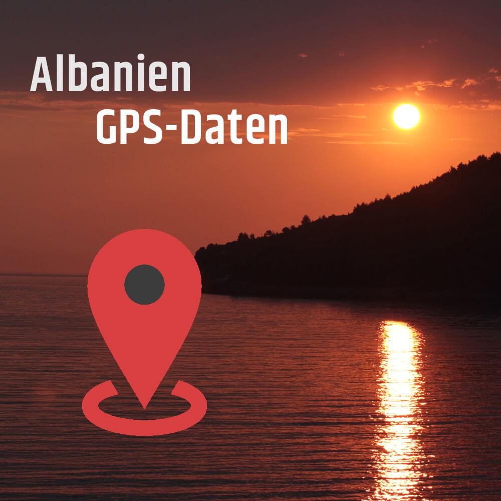 GPS Daten Albanien download