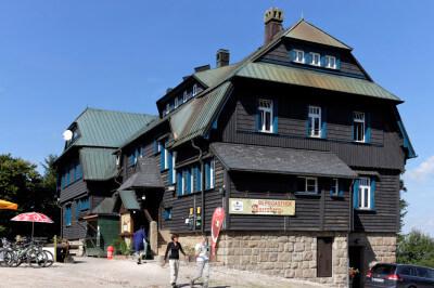 Berggasthof auf dem Auersberg