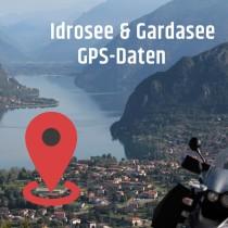 GPS Daten Italien Idro-, Ledro- und Gardasee
