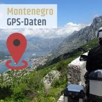 GPS Daten Montenegro download