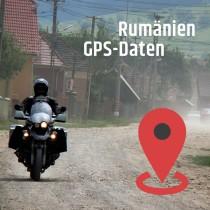 GPS Daten Rumänien download