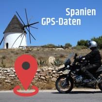 GPS Daten download Spanien - Andalusien und Pyrenäen
